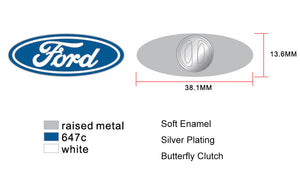 Ford Logo Enamel Pin