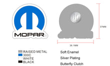 Load image into Gallery viewer, Mopar Logo Enamel Pin