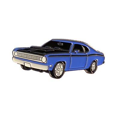 Plymouth Duster Enamel Pin