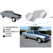 Load image into Gallery viewer, Chevy Nova SS Enamel Pin