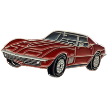 Load image into Gallery viewer, Corvette Enamel Pin