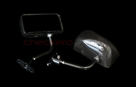 Race Carbon Fiber GT Mirrors