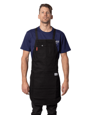 Squire Light Duty Workshop Apron - Waxed Cotton