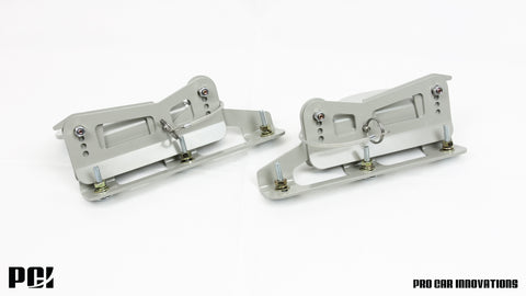 Quick Disconnect Splitter Brackets 01-05 Civic / RSX