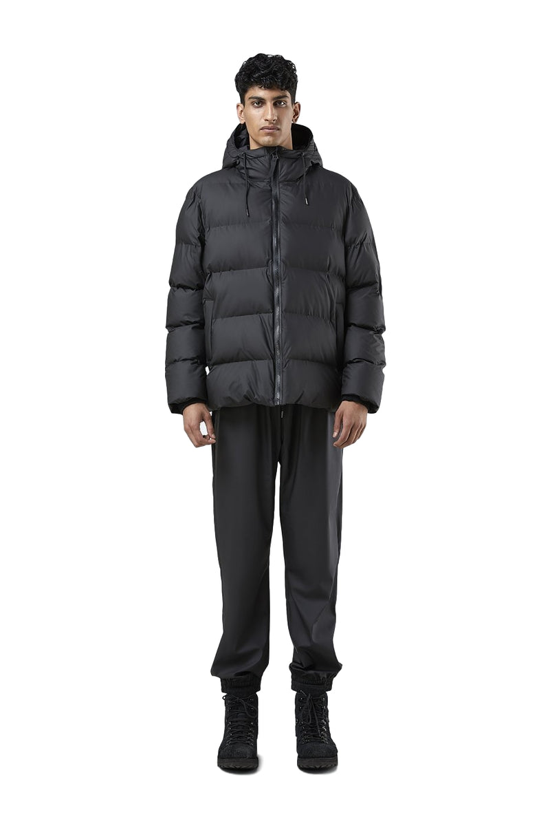 Shop Rains Puffer Jacket Jakke Sort 2021 - ikkebutikk.no