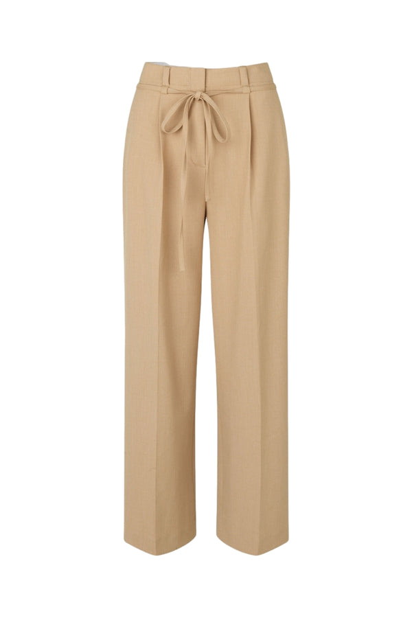 Shop Samsøe Samsøe Haven trousers 13103 Bukse Beige 2021 - ikkebutikk.no