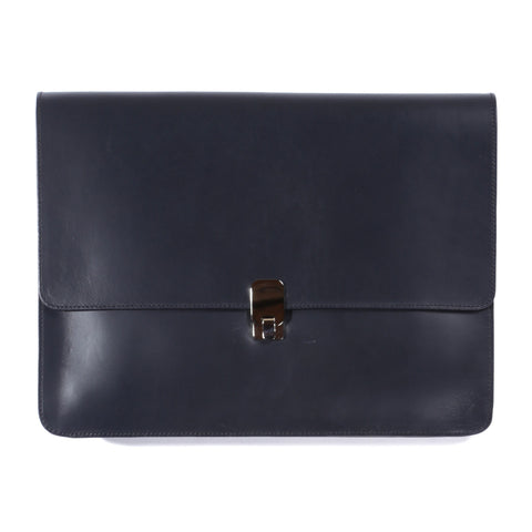 A.P.C. ANDY DOCUMENT HOLDER NAVY
