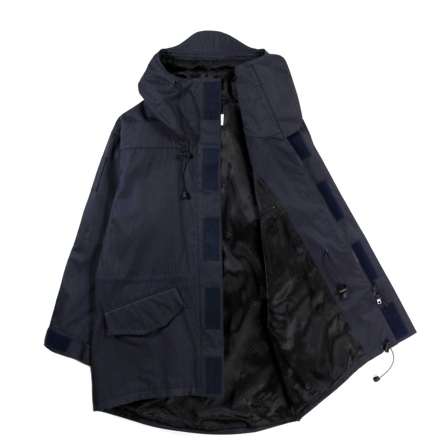 4SDESIGNS NF COAT NAVY BONDED COTTON