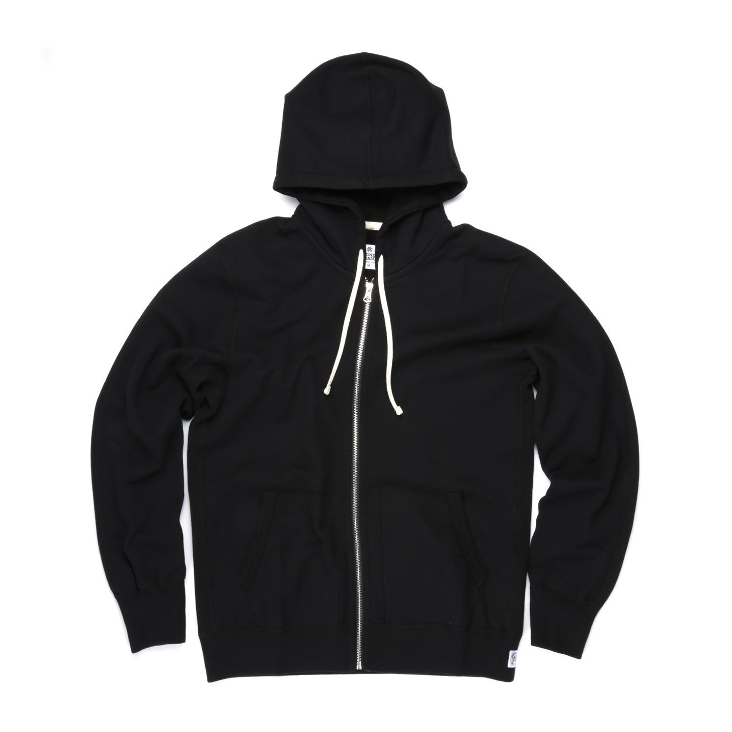 REIGNING CHAMP MIDWEIGHT TERRY ZIP HOODIE BLACK