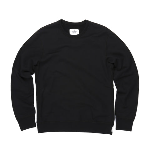 REIGNING CHAMP MIDWEIGHT TERRY CREWNECK BLACK