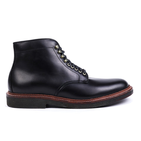 ALDEN 4515H PLAIN TOE BOOT BLACK CALF
