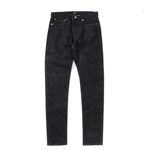A.P.C. PETIT NEW STANDARD BLACK DENIM