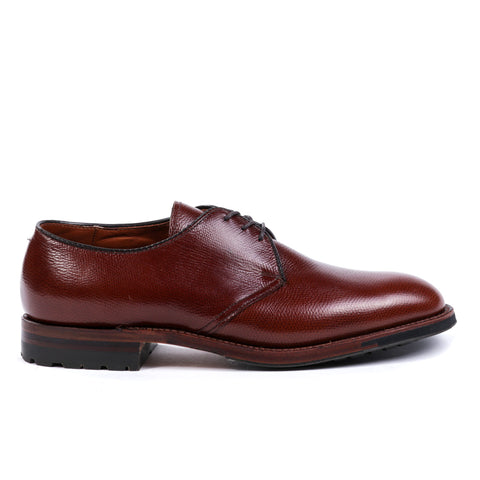ALDEN 942C DUTTON 3 EYE BLUCHER OX BROWN ALPINE GRAIN CALF