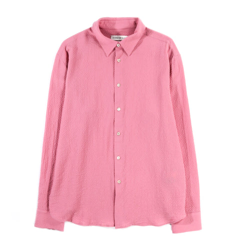 A KIND OF GUISE FLORES SHIRT BERRY SORBET