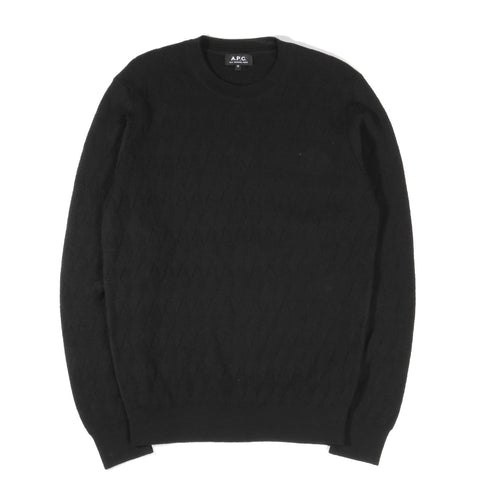 A.P.C. PAVEL SWEATER BLACK
