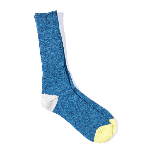 ANONYMOUS ISM MOC 2 POINT CREW SOCK BLUE