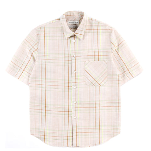 A KIND OF GUISE BANEPA SHIRT ALOE CHECK