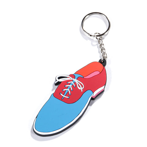 BY PARRA SHOE KEYCHAIN