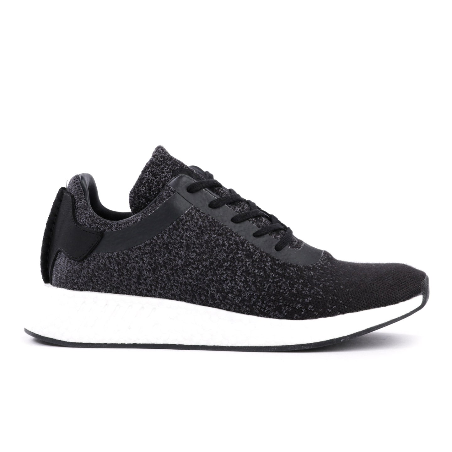 96a24e33bcf50 ADIDAS ORIGINALS BY WINGS + HORNS NMD R2 PRIME KNIT BLACK