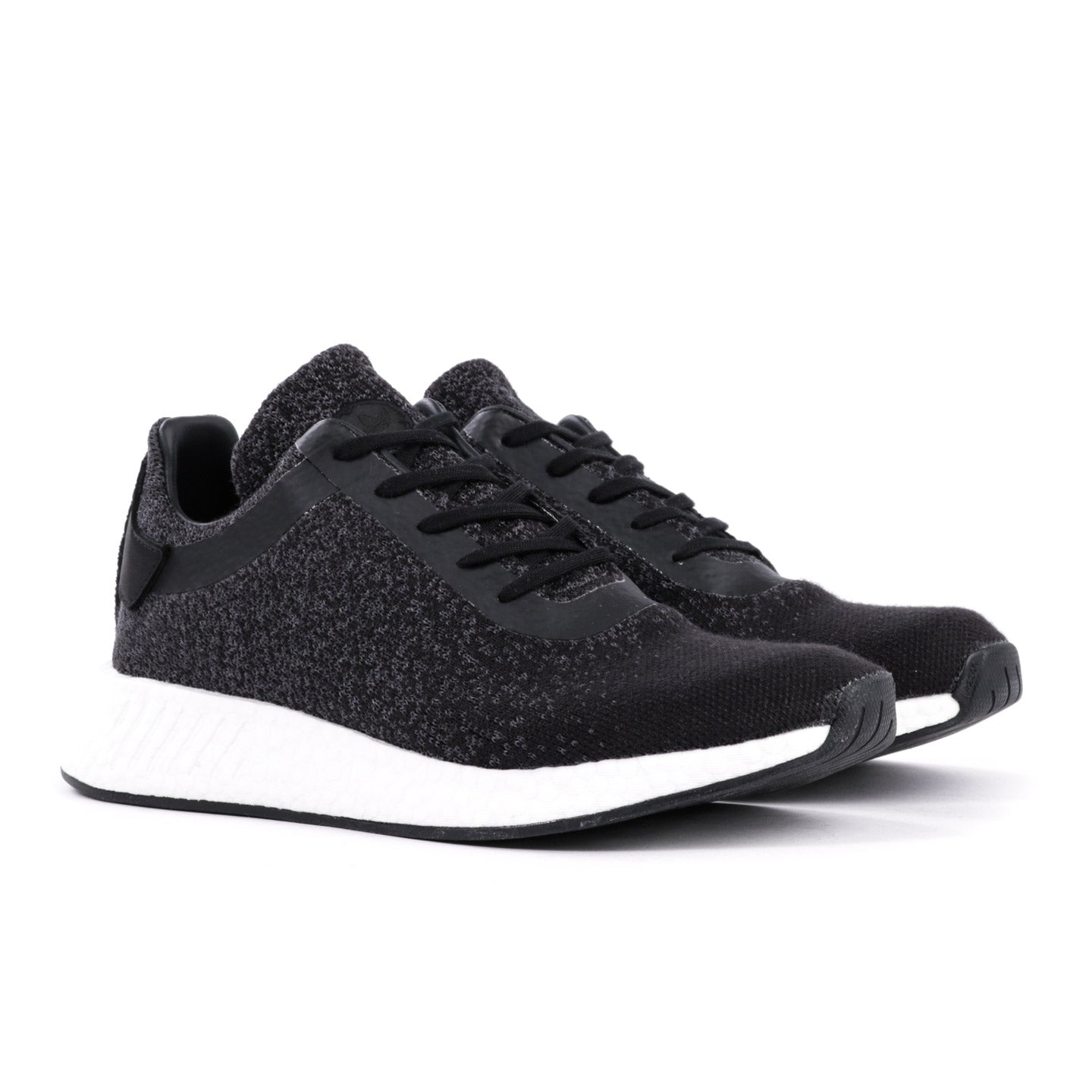 ADIDAS ORIGINALS BY WINGS + HORNS NMD R2 PRIME KNIT BLACK