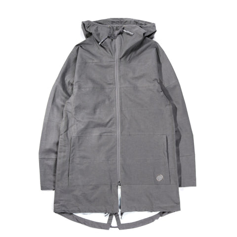 ADIDAS ORIGINALS BY WING + HORNS TECH PARKA ASH
