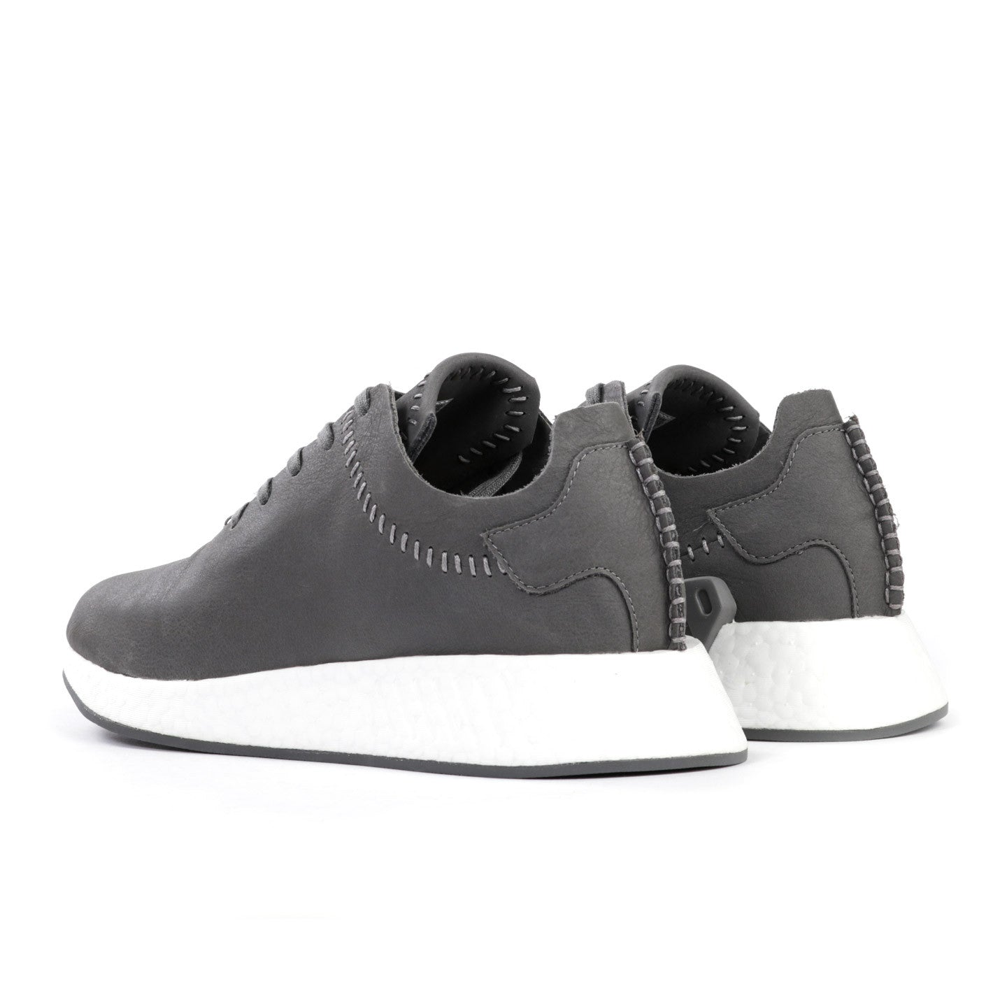 ADIDAS ORIGINALS BY WING + HORNS NMD R2 LEATHER ASH GREY