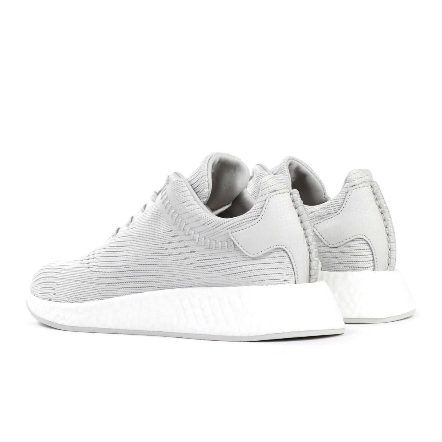 66a593dd93566 ADIDAS ORIGINALS BY WING + HORNS NMD R2 PRIME KNIT HINT GREY