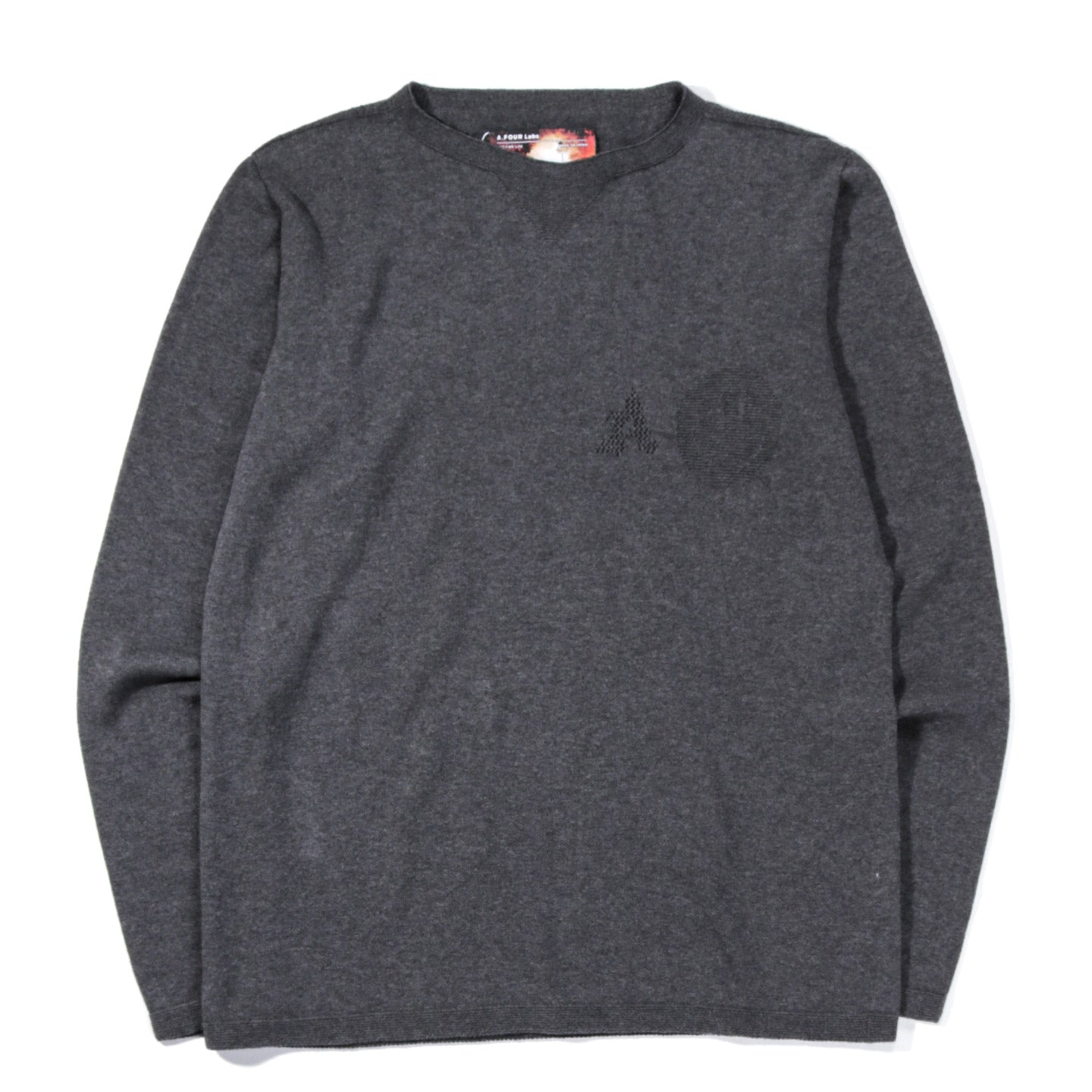 A.FOUR X CALI THORNHILL DEWITT WHOLE GARMENT LS T GREY