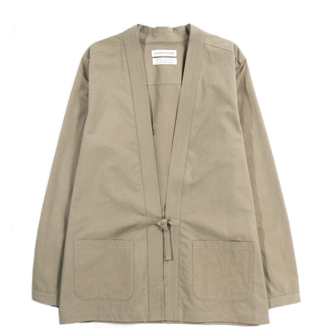 A KIND OF GUISE KOHAKU CARDIGAN WASHED OLIVE