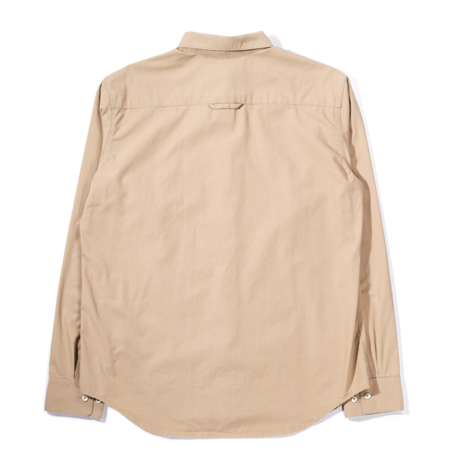 A KIND OF GUISE PERMANENTS BUTTON DOWN WASHED CAMEL