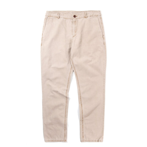 A KIND OF GUISE PERMANENTS TROUSERS WASHED CAMEL