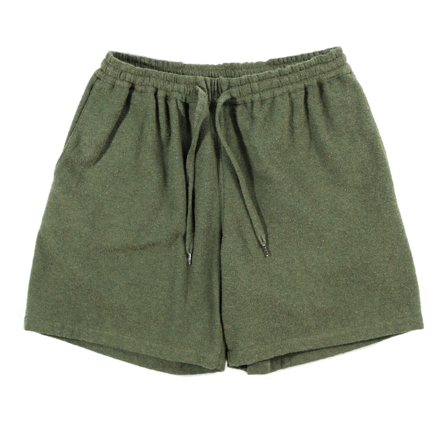A KIND OF GUISE VOLTA SHORTS FRENCH TERRY GREEN