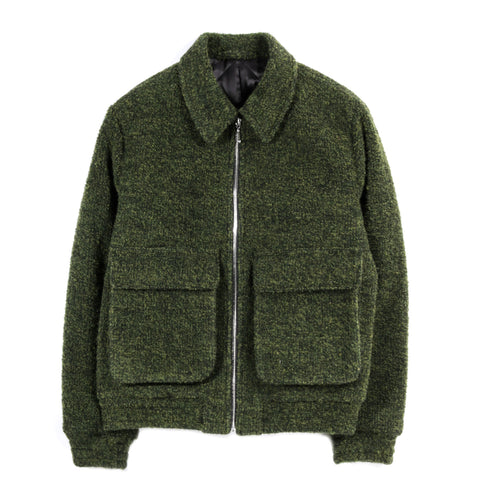 A KIND OF GUISE AVALON JACKET SMOKED GREEN