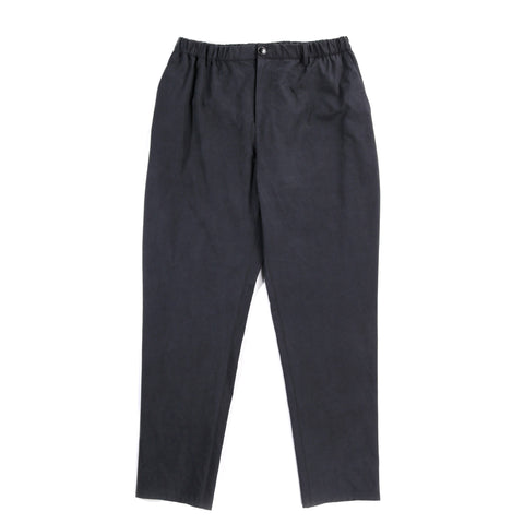 A KIND OF GUISE ELASTICATED WIDE TROUSERS WASHED NAVY