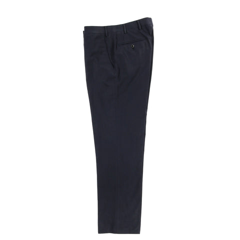 A KIND OF GUISE RELAXED TAILORED TROUSERS DEEP NAVY