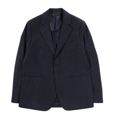 A KIND OF GUISE RELAXED NOTCH BLAZER DEEP NAVY