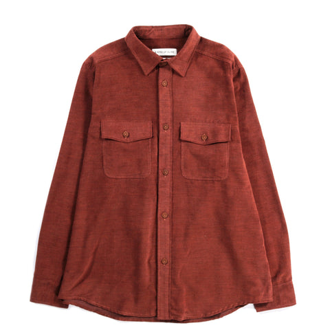 A KIND OF GUISE LAMPORT SHIRT RUST