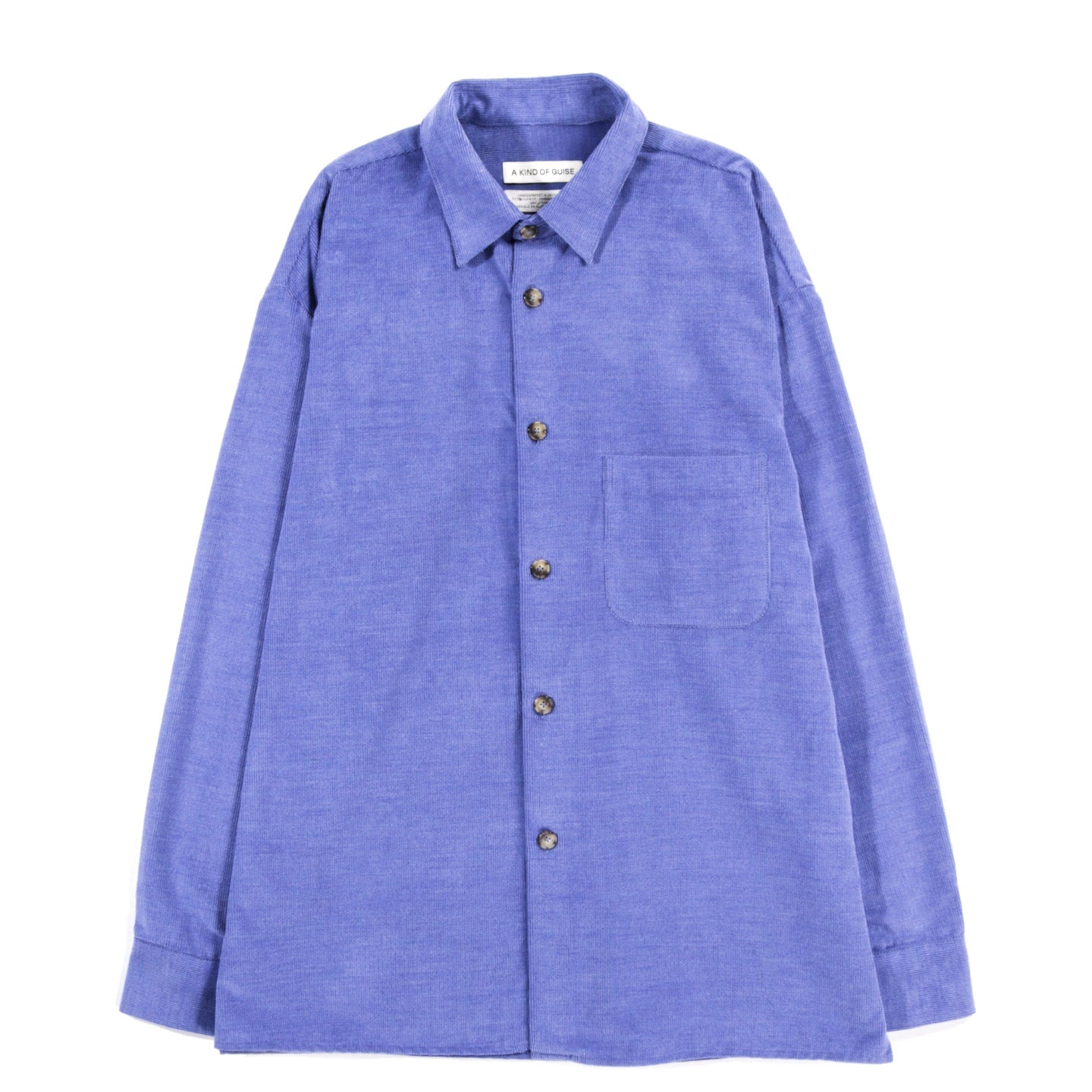 A KIND OF GUISE GUSTO SHIRT BLUE LAVENDER