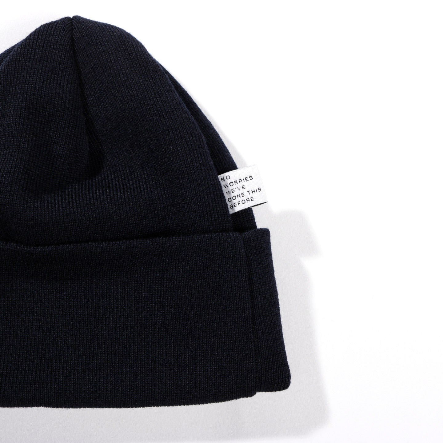 A KIND OF GUISE PERMANENTS BEANIE NAVY