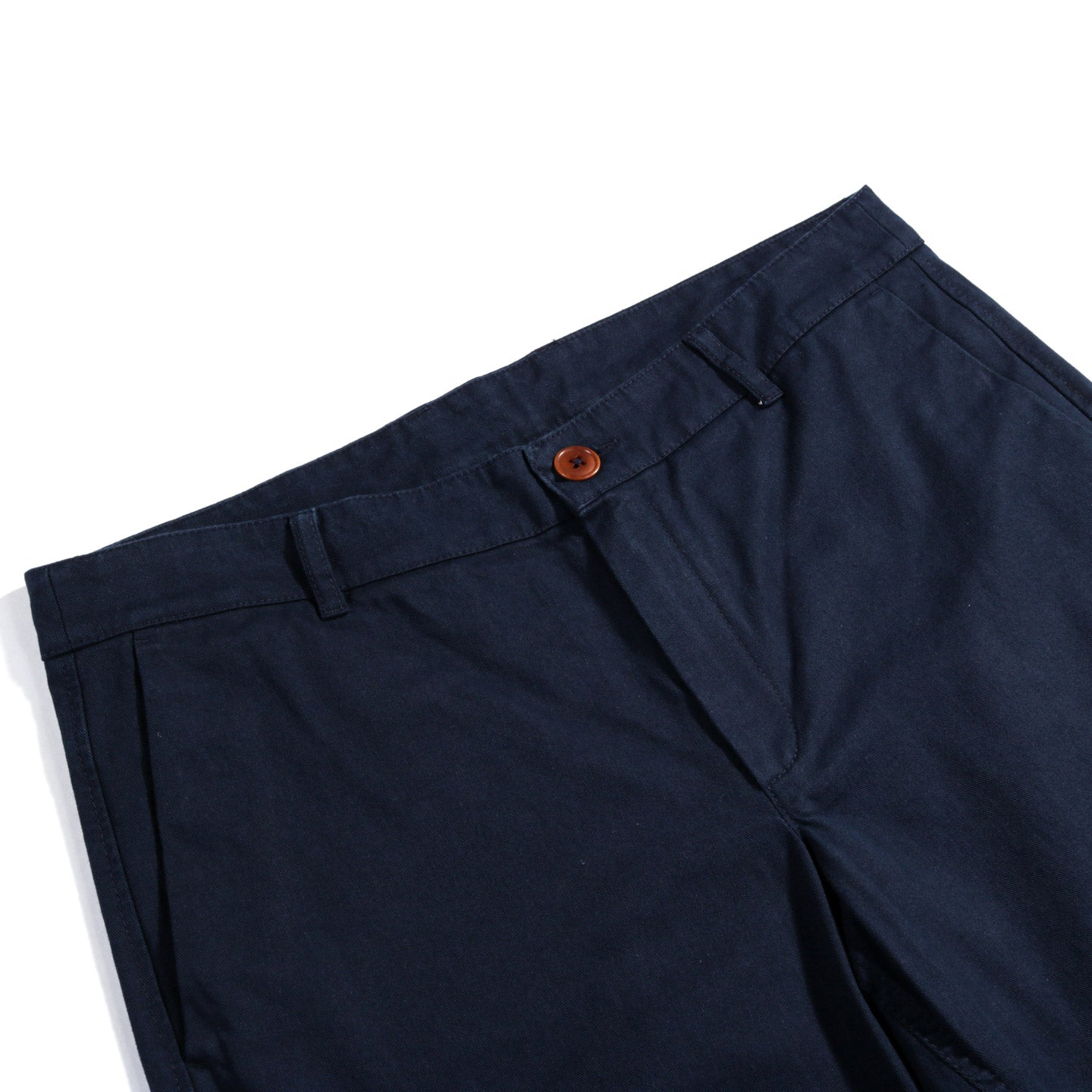 A KIND OF GUISE PERMANENTS TROUSERS WASHED NAVY