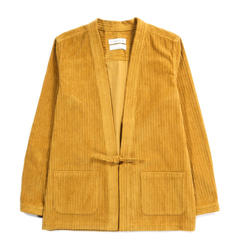 A KIND OF GUISE KOHAKU CARDIGAN MUSTARD