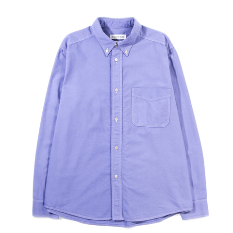 A KIND OF GUISE SEATON BUTTON DOWN SHIRT WASHED LAVENDER