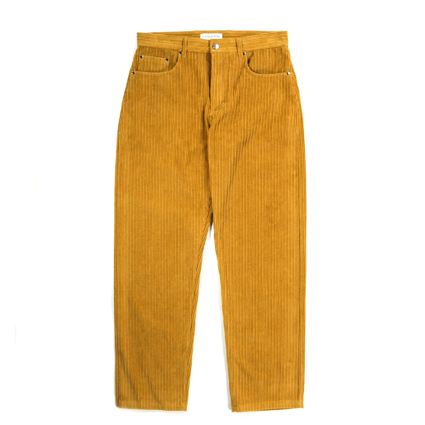 A KIND OF GUISE ODON WIDE JEANS MUSTARD