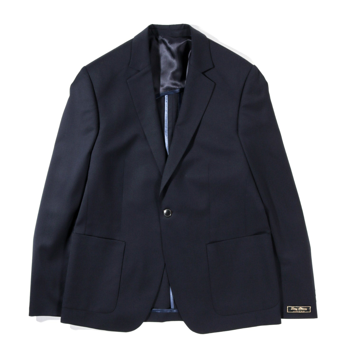 A KIND OF GUISE UNSTRUCTURED BLAZER MIDNIGHT