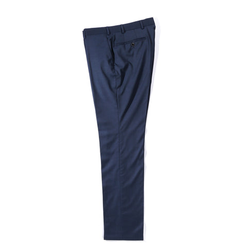 A KIND OF GUISE CLASSY TAILORED TROUSERS MARINE