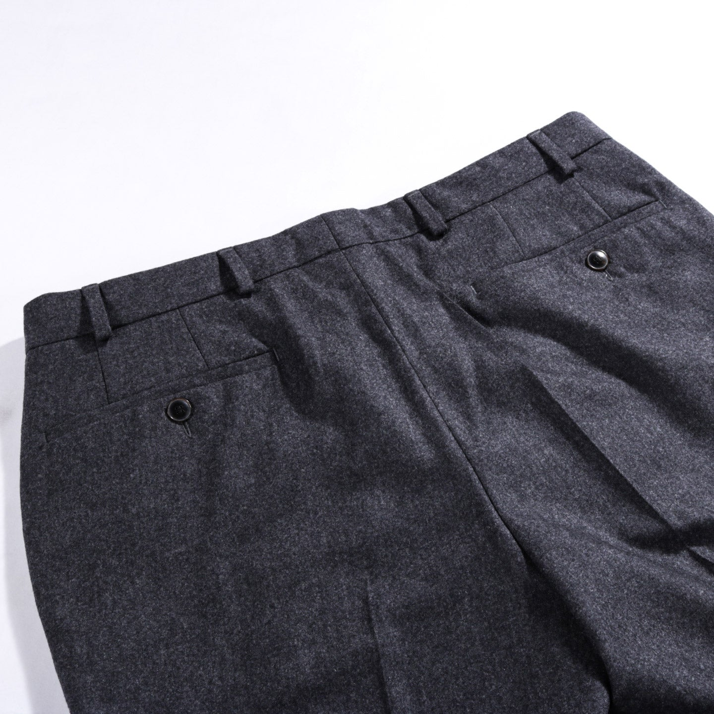 A KIND OF GUISE CLASSY TAILORED TROUSERS GREY MELANGE