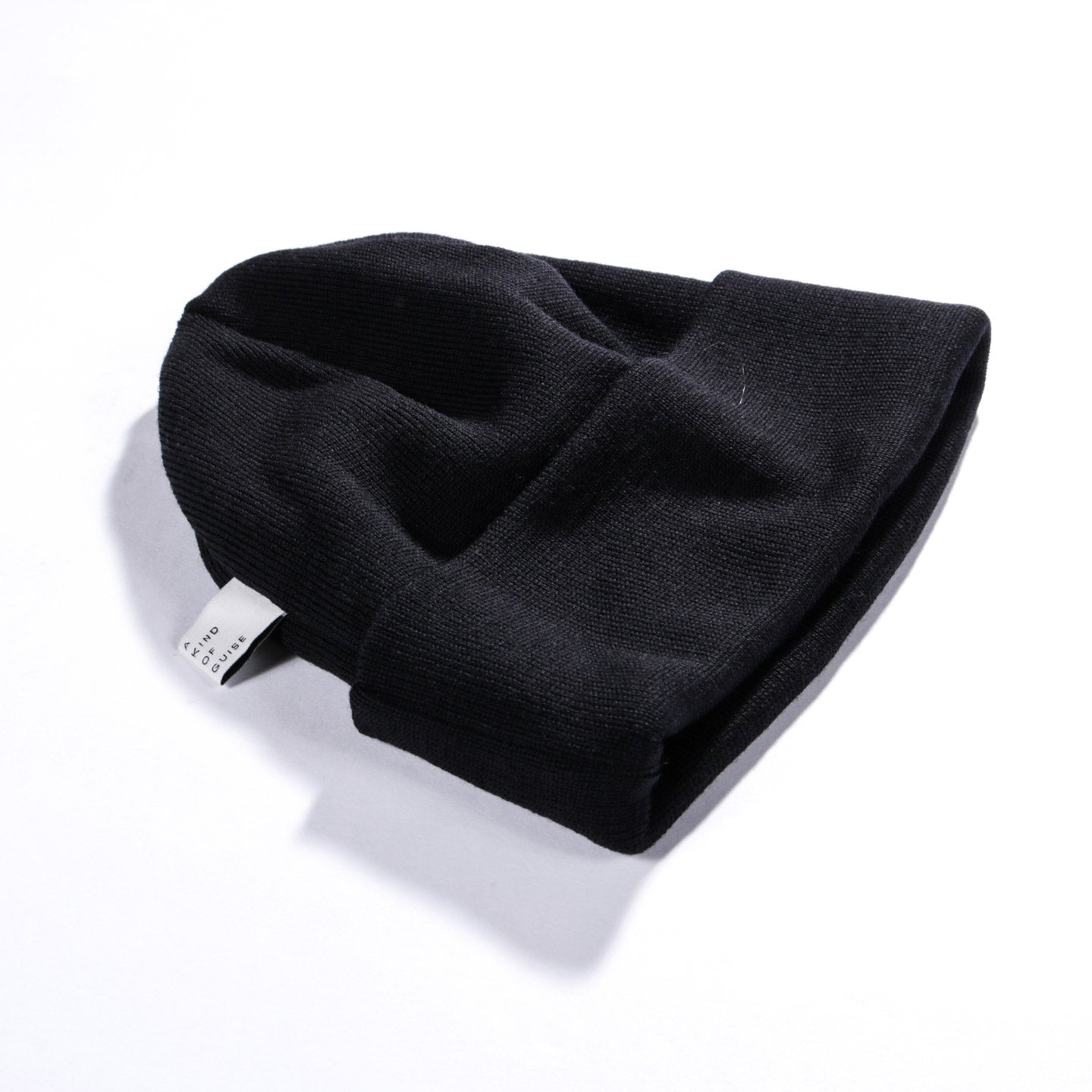 A KIND OF GUISE PERMANENTS BEANIE BLACK