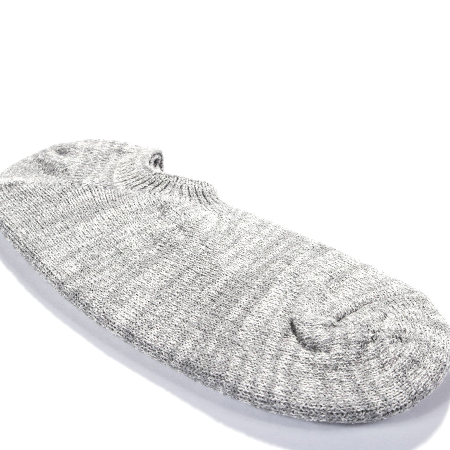 ANONYMOUS ISM BOUCLE ANKLE SOCK GREY