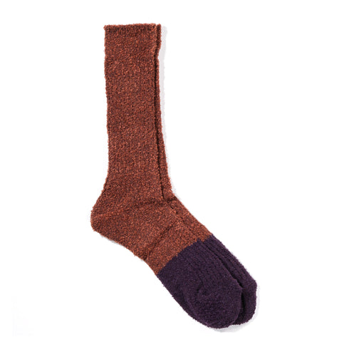 ANONYMOUS ISM EXPAND CREW SOCK BROWN