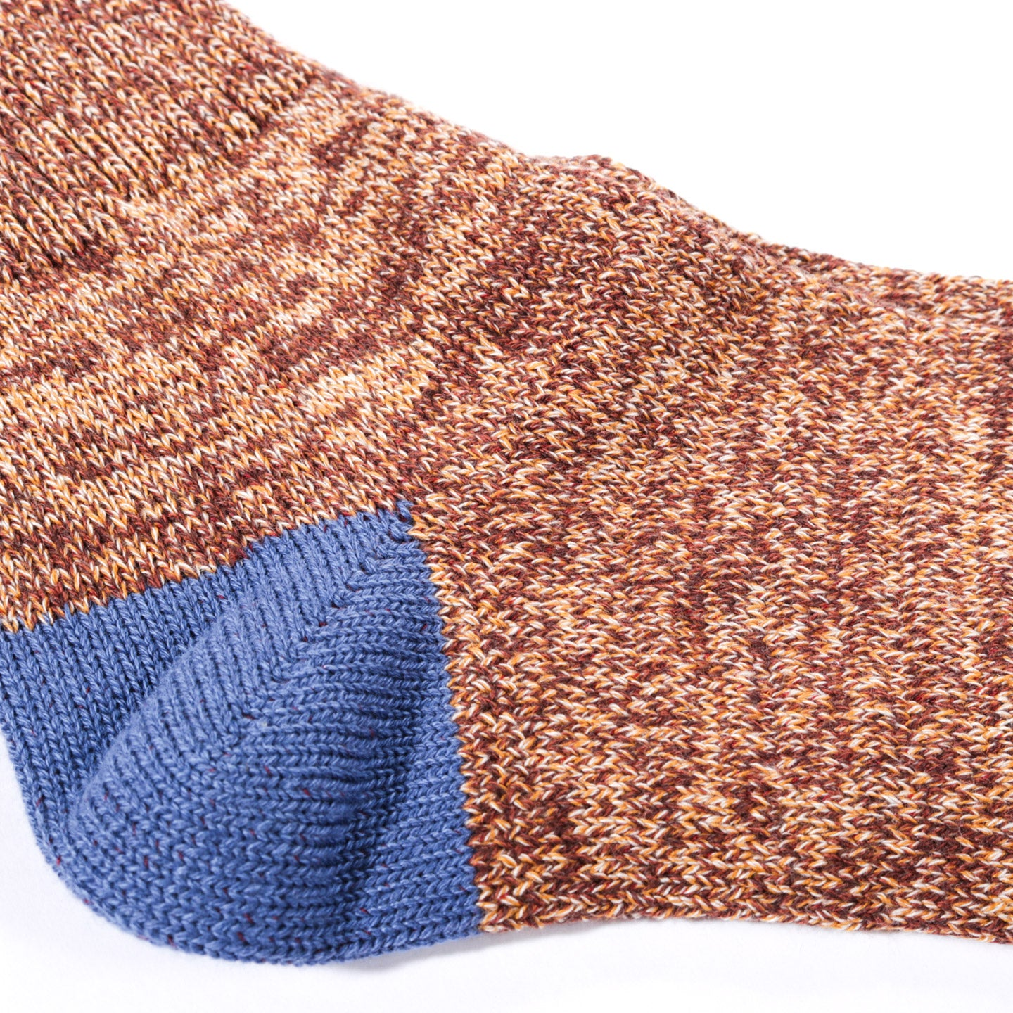 ANONYMOUS ISM MOC 2 POINT CREW SOCK BROWN